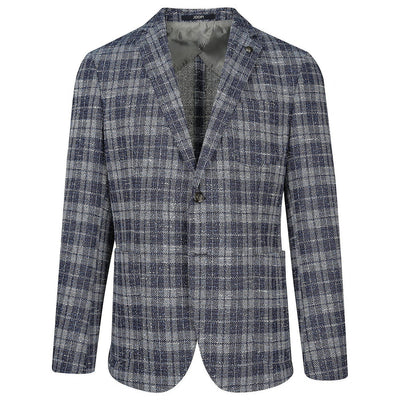 Joop! Blazers Joop! Plaid Check Patch Pocket Boucle Blazer - Gotstyle The Menswear Store