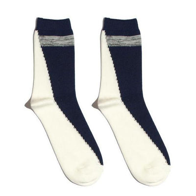 Gotstyle - N/A Socks Hi-Ankle Sock - Navy/White