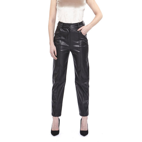 Hilary MacMillan Bottoms Faux Leather Pants - Gotstyle The Menswear Store
