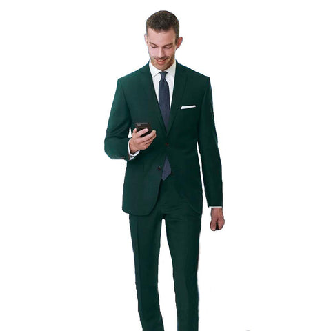 Paul Betenly MT - Suits Griffin Wool Suit Separates - Green - Gotstyle The Menswear Store