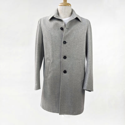 Gotstyle - 0909 Jackets Herringbone Wool/Cashmere Car Coat