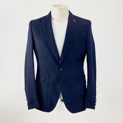 Club of Gents Blazers Shadow Checks Peak Lapel Blazer (LAST ONE) - Gotstyle The Menswear Store