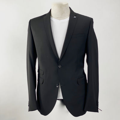 Club of Gents Blazers Solid Wool Blend Blazer w Ticket Pocket (LAST ONE) - Gotstyle The Menswear Store