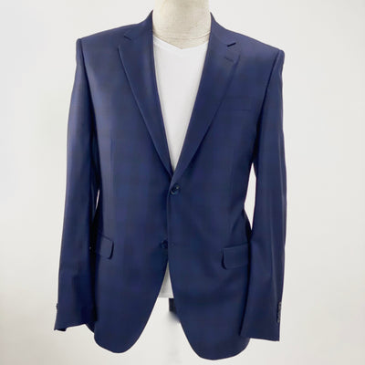 Gotstyle Blazers Super 130s Subtle Plaid Blazer - Gotstyle The Menswear Store