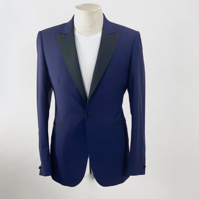 Hardy Amies Blazers Solid Wool/Mohair Tuxedo Jacket (LAST ONE) - Gotstyle The Menswear Store