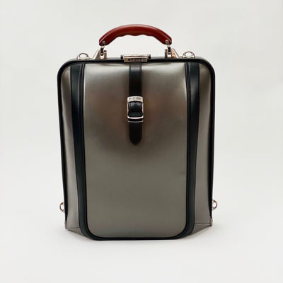 Artphere Bags Dulles Touch Synthetic Leather Bag - Silver - Gotstyle The Menswear Store