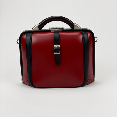 Artphere Bags Dulles Touch Synthetic Leather Bag - Red - Gotstyle The Menswear Store