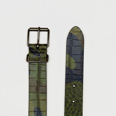 Gotstyle - Anderson's Belts Reptile Texture Camo Leather Belt