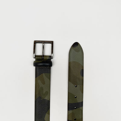 Anderson's Belts Camo Leather Belt (Last One) - Gotstyle The Menswear Store