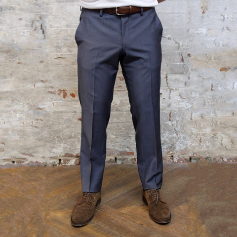Tiger Of Sweden MT - Dress Pants Tiger of Sweden Solid Barberis Wool Pant - Blue - Gotstyle The Menswear Store
