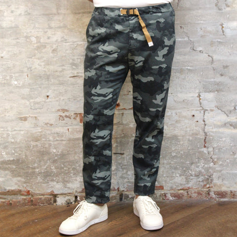 White Sand MS - Bottoms - Chinos Belted Relaxed Tonal Stretch Camo Chino - Gotstyle The Menswear Store
