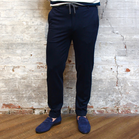 Joop! MS - Bottoms - Chinos Tonal Check Cuffed Jogger Pants - Gotstyle The Menswear Store