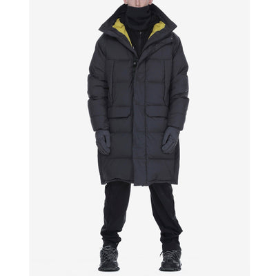 Krakatau Jackets Long Down Puffer Hooded Parka - Gotstyle The Menswear Store