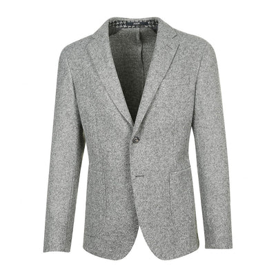 Gotstyle - Joop! Blazers Wool Blend Patch Pocket Blazer - Grey