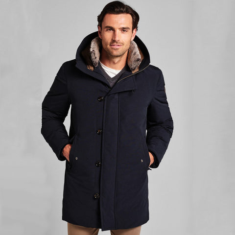 Joop! MS - Outerwear - General Candrew Down Filled Hooded Coat - Gotstyle The Menswear Store