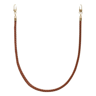 Gotstyle - Jules Kae Mask Braided Vegan Leather Cord Face Mask Holder - Nude