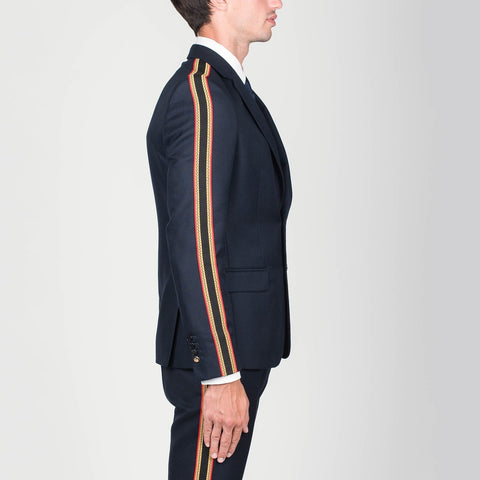 Lords & Fools MS - Blazers Twill Blazer w Side Bands - Gotstyle The Menswear Store