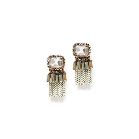 Lover's Tempo Earrings Illume Fringe Earrings - Gotstyle The Menswear Store