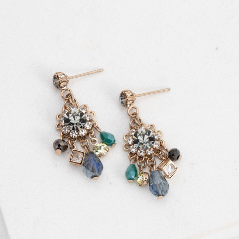 Lover's Tempo Earrings Bloom Chandelier Earrings - Gotstyle The Menswear Store
