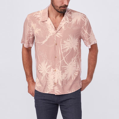 Gotstyle - Paige Collar Shirts Camp Collar Short Sleeve Shirt - Copper