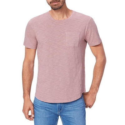 Gotstyle - Paige T-Shirts Kenneth Crew Neck Chest Pocket Tee - Plum