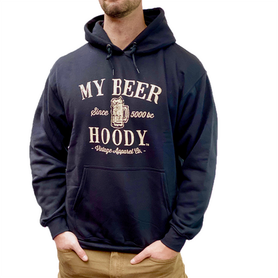 Vintage Apparel Co Sweatshirts My Beer Hoody - Gotstyle The Menswear Store