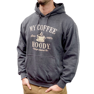 Gotstyle - Vintage Apparel Co Sweatshirts My Coffee Hoody