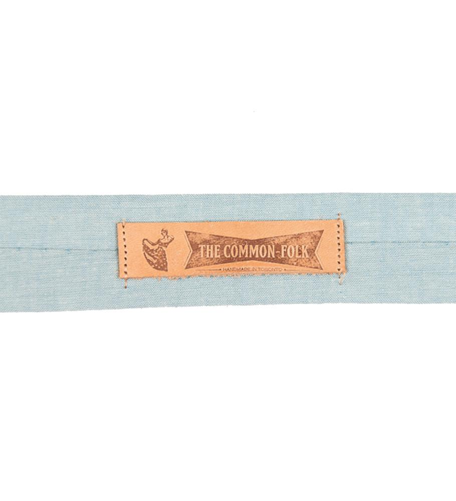 The Common Folk MA - Neckwear - Ties Namboku Vintage Chambray Tie - Gotstyle The Menswear Store