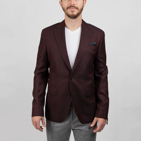 Two Tone Dobby Angelico Wool Blazer