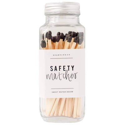 Sweet Water Decor - Safety Matches - Black - Gotstyle The Menswear Store