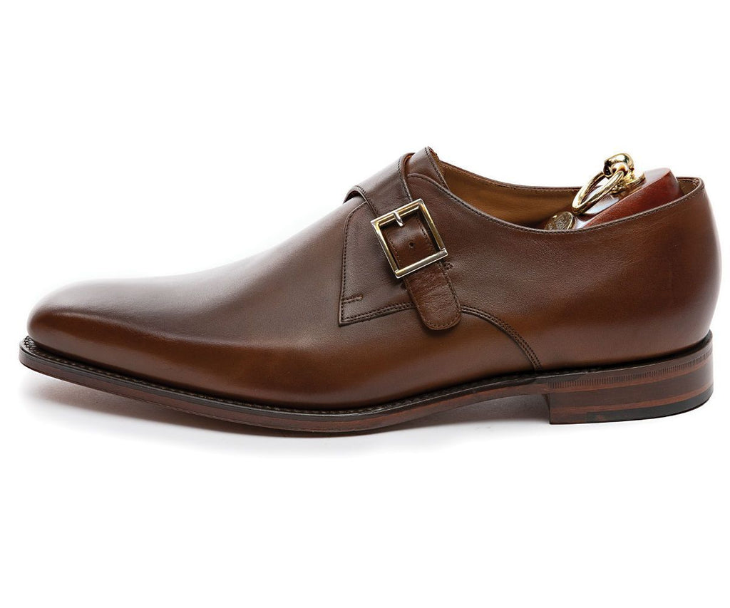 Loake MF - Dress Shoes Medway Single Monk Strap Leather Shoe - Gotstyle The Menswear Store
