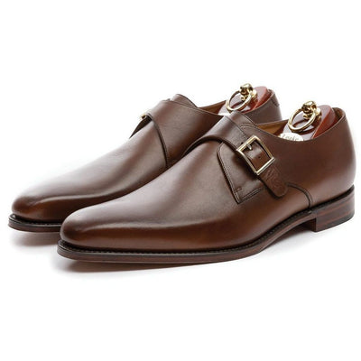 Loake Shoes Medway Single Monk Strap Leather Shoe - Gotstyle The Menswear Store
