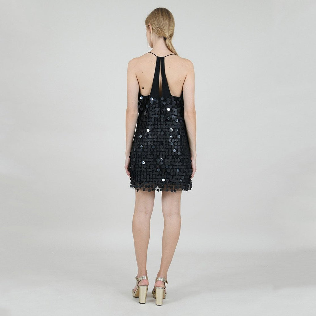 Mini Disco Dress with Large Sequins - Gotstyle The Menswear Store