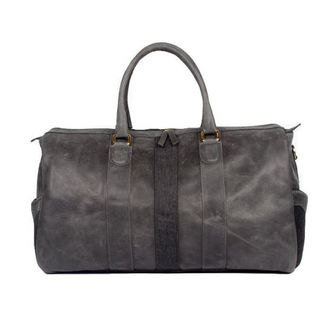 Monte & Coe MA - Leather - Bags Monte & Coe Ossington Leather Duffle Bag - Gotstyle The Menswear Store