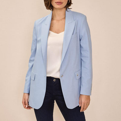 Gotstyle - Mos Mosh Blazers Relaxed Longer Fit Blazer