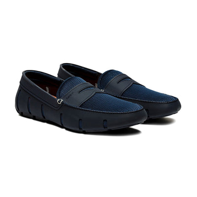 Swims Shoes Penny Loafer Navy - Gotstyle The Menswear Store