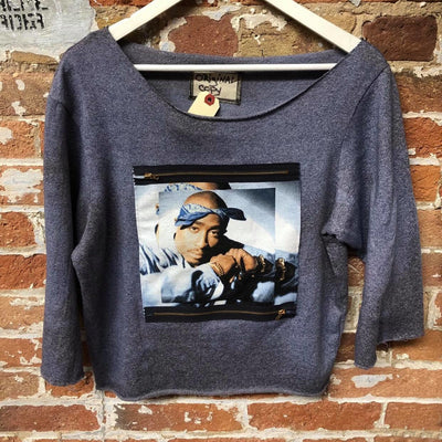 Gotstyle - Original Copy Sweatshirts Tupac Vintage Reworked Sweatshirt