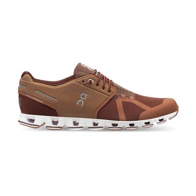 Cloud Fully Cushioned Running Sneaker - Russet/Cocoa - Gotstyle The Menswear Store