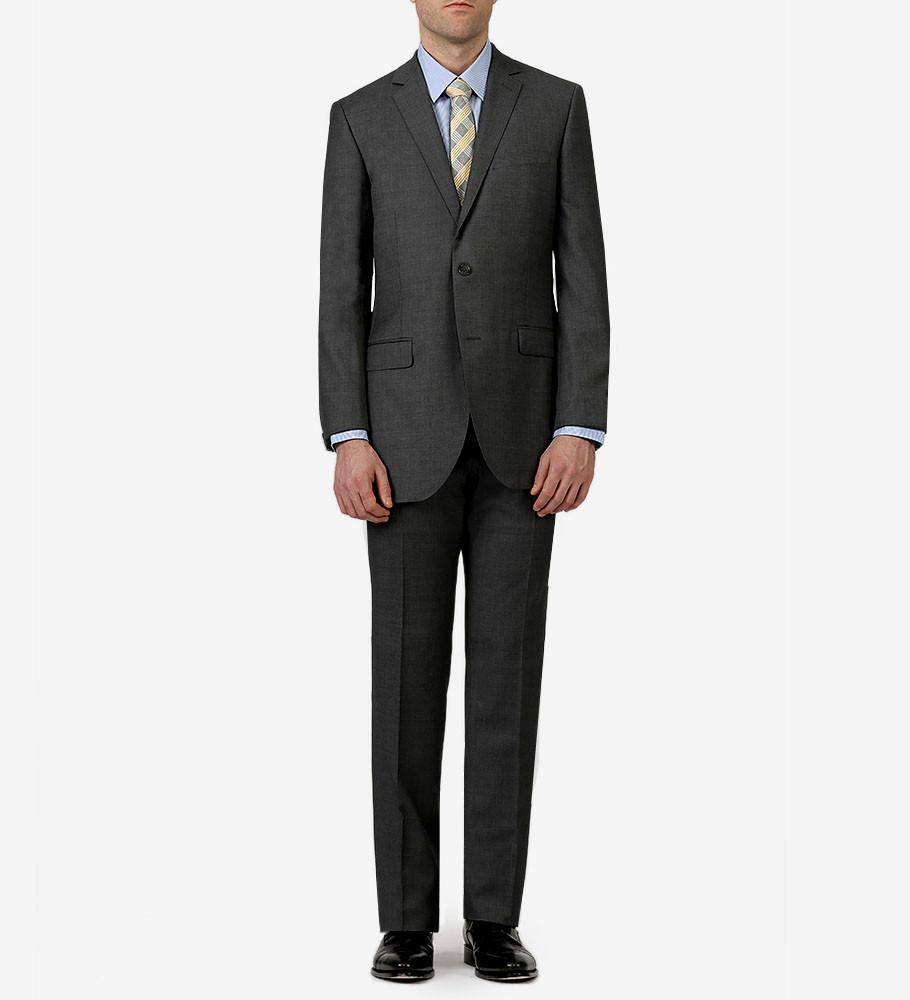 Paul Betenly MT - Suits Grey Ronaldo/Roma Wool Suit - Gotstyle The Menswear Store
