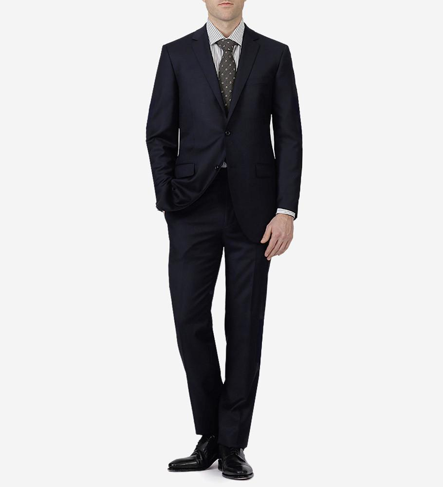 Paul Betenly MT - Suits Navy Ronaldo/Roma Wool Suit - Gotstyle The Menswear Store