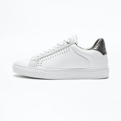 Zadig & Voltaire Shoes Low Leather Sneaker w Embellished Studs - Gotstyle The Menswear Store
