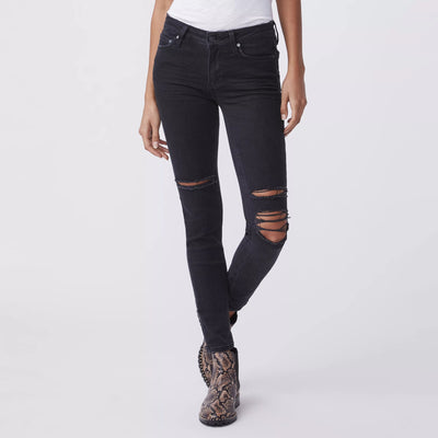 Paige Denim Margot Ankle - Dark Out Destructed - Gotstyle The Menswear Store