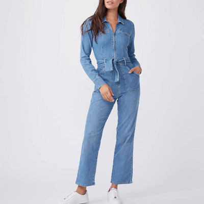 Gotstyle - Paige Denim Jett Zip Up Utility Jumpsuit - Jameson