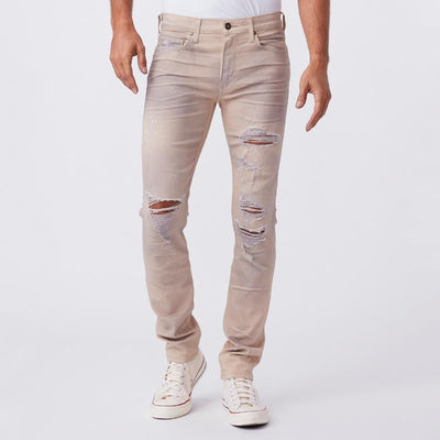 Paige Denim Lennox Skinny Fit Soft Denim - Bobbi Destructed - Gotstyle The Menswear Store