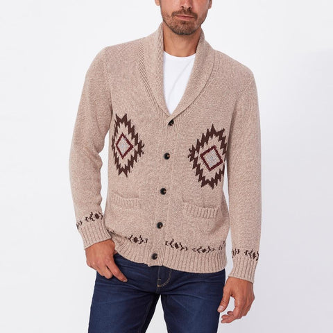 Blanton Shawl Collar Cardigan - Gotstyle The Menswear Store