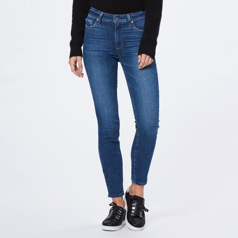 Paige Denim Hoxton Ankle Ultra Skinny High Rise Jean - Socal - Gotstyle The Menswear Store