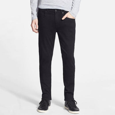 Paige Denim Lennox Skinny Fit Soft Denim Black Shadow - Gotstyle The Menswear Store
