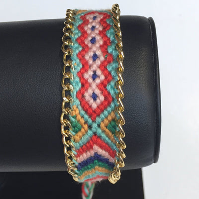 Gotstyle - Gotstyle Jewellery Woven Friendship Bracelet - Pattern 2