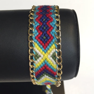 Gotstyle - Gotstyle Jewellery Woven Friendship Bracelet - Pattern 3