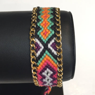 Gotstyle - Gotstyle Jewellery Woven Friendship Bracelet - Pattern 8